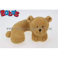 Wholesale 3D Neck Rest Pillow Baby Kids Car Seat Plush Soft Toy Travel Bear from china suppliers