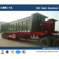 Wholesale CIMC 60ton rear tipper trailer from china suppliers