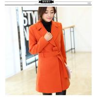 Wholesale 2016 fashion women turn-down collar polyester coat elegant coats from china suppliers