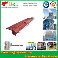 Wholesale Electrical CFB Boiler Header / Water Header With Natural Circulation from china suppliers