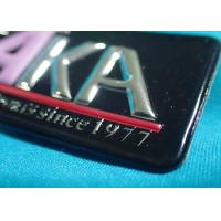 Quality High-Frequency Patch With Embossed Logo , Customized 3D Effect TPU Heat Transfer for sale