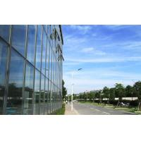 Wholesale Large Aluminium Double Glazed Curtain Walls With Blue Lowes Glass from china suppliers