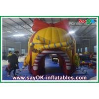 Wholesale Customed Red Inflaltable Candy House ,  Oxford Cloth Water-proof Tent from china suppliers