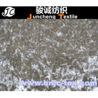 Quality New shining spendex and polyester blend elastic  fabric for curtain fabric for sale