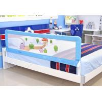 Wholesale Foldable Full Size Baby Bed Rail Gurad Adjustable / Blue Woven Net from china suppliers