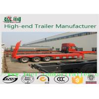 Buy cheap Heavy Duty Truck Howo 30 ton Low Flatbed Semi Trailer Truck  30T - 60T from wholesalers
