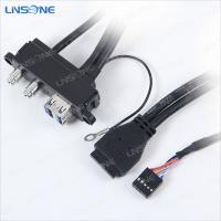 Wholesale Panel mount usb 3.0 cable for computer/notebook computer from china suppliers