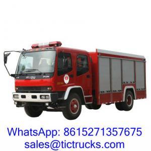 Wholesale ISUZU 6000L 240HP Fire Truck 4 x 2 ISUZU for sale from china suppliers