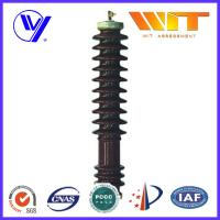 Wholesale 51KV 10KA Porcelain Housed Surge Arrester Transmission Line Lightning Protection from china suppliers