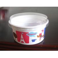 Wholesale Yogurt Disposable Dessert Cups , Round Bowl With Flat Lid 130ml 4oz from china suppliers