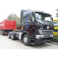Wholesale SINOTRUK HOWO A7 Tractor Head , Heavy Duty 420 HP Prime Mover 6x4 Tractor Head from china suppliers