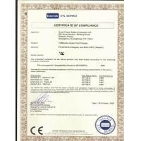 HONG KONG TAC INDUSTRIAL CO., LTD. Certifications