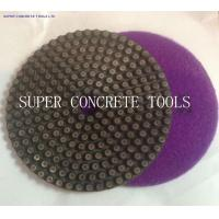 Wholesale Diamond Metal Flex Dot Concrete Polishing Pads from china suppliers