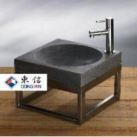 Wholesale Qingdao Honed Blue Limestone Wash Basin (DX-B) from china suppliers