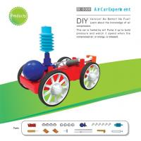 Wholesale Classic School DIY Educational Toys , Non Toxic Air Car Toy from china suppliers