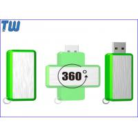 Buy cheap 360 Degree Rotating 8GB Flash Drives Memory Stick Customized Logo from wholesalers