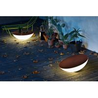 Wholesale Plastic cool outdoor solar decorative round table shape lights from china suppliers