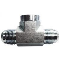 Wholesale Hydraulic Fittings And Adapters 37 Degree Male Tube To Female Pipe Branch Tee from china suppliers