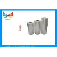 Wholesale High Adaptability Stretch Film Wrapping Roll For Soft Beverage Bottle Labelling from china suppliers