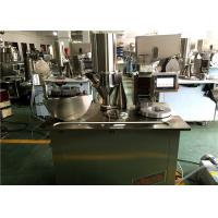Wholesale PLC Control System Semi Auto Capsule Filling Machine For Small Business from china suppliers
