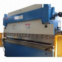 Wholesale NC Press Brake Machine with Delem Control System, Stroke and Back Gauge are Controlled by Controller from china suppliers