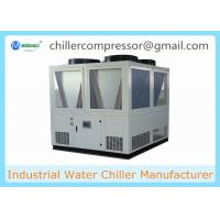 Wholesale 20 tons-130 tons Semi-hermetic Screw Compressor Air Cooled Water Chiller for Plastic and Rubber Industry from china suppliers
