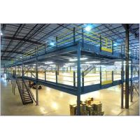 Wholesale Multi Level Pallet Rack Supported Mezzanine , Steel Structure Mezzanine Floor from china suppliers