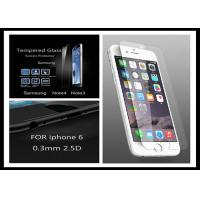 Wholesale 0.33mm 9H Hardness Iphone 6Plus Tempered Glass Film screen protector shield from china suppliers