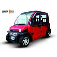 Wholesale 4 Wheel Eco - Friendly Electric Cars , Small Electric Vehicle 3KW Motor Power from china suppliers