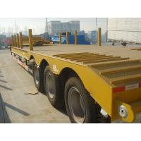 Wholesale 40 Foot Gooseneck 3 Axle Low Bed Semi Trailer For Container Transportation from china suppliers
