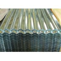 Wholesale Zinc Coated Corrugated Steel Roofing Sheets Metal Roof Panel 0.15 - 1.2mm Thick from china suppliers