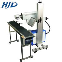 China Touch Screen Fiber Laser Engraving Machine USB Interface Easy To Operate on sale