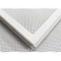 Wholesale Integrated Suspended Aluminum Ceiling Sheet Roll Coated Commercial Ceiling Tiles from china suppliers
