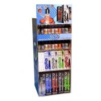 China Countertop Acrylic E-liquid Display Case for E-juice Retail Stores on sale