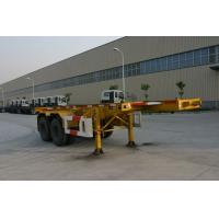 Wholesale Skeletal Steel 20 feet Tank Container Trailer Chassis 2 Axles For Heavy Duty from china suppliers