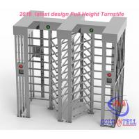 Wholesale Two door access Prison Full Height turnstile security gates RFID card and Fingerprint Control from china suppliers