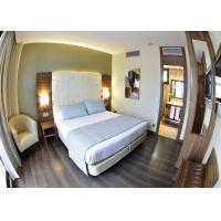 Wholesale Deluxe Modern Hotel Bedroom Furniture , King Size Bedroom Sets from china suppliers