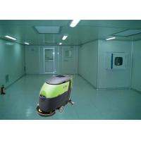 Wholesale 24V Battery powered Floor Scrubber , Big Efficiency OEM Commercial Floor Cleaning Machines from china suppliers