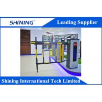Remote Control  Traffic Barrier Gate With Led Light For Car Parking System