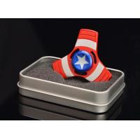 Wholesale 2017 Cool Zinc Alloy Captain America, Spideman,Ironman Tri Fidget Hand Spinner 1115 from china suppliers