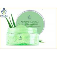 Wholesale Aloe Vera Protective Restoring Overnight Sleeping Deep Moisturizing Face Mask 100ml from china suppliers