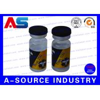 Wholesale Steroid Bottle Labels Of 10ml Glass Bottles, Medical Private Hologram Labels Printing from china suppliers
