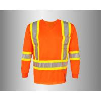 Quality OEM/ODM/Private Label Long Sleeve Hi Vis Shirt, 3M Tape, High Visibility for sale