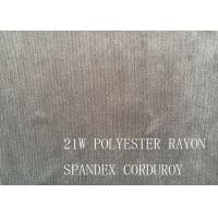 Wholesale 90%P 8%N 2%SP 21W POLYESTER RAYON SPANDEX CORDUROY FOR COAT from china suppliers