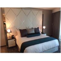 Wholesale Elegant 5 Star Luxury Hotel Bedroom Furniture Sets With Metal Frame from china suppliers