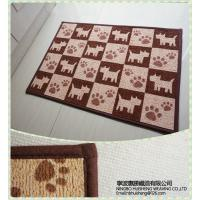 Wholesale Slip-resistance soft Decorative Door Mats , Office fashion interior door mats from china suppliers