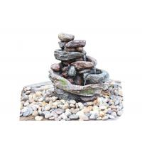 Wholesale Creek Cascading Water Fountains Outdoor , Large Garden Water Fountains In Magnesia Material from china suppliers