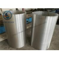 Wholesale 304 SS Johnson Screens Groundwater And Wells V Shape For Drum FIlter from china suppliers