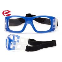 Wholesale Adult Indoor Sports Basketball Training Glasses With Adjustable Elastic Strap from china suppliers