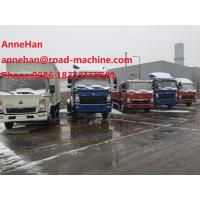 Wholesale ISUZE Engine Load 6T Howo Cargo Truck EuroIII  4200X1950X450 Container from china suppliers